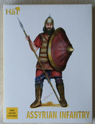 HaT 1/72 HAT8092 Assyrian Infantry (Ancients)